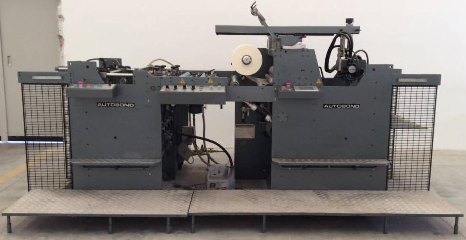 AUTOBOND 76, автоматический ламинатор В1