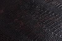 Кожаные панели 2D ЭЛЕГАНТ, Crocodile Brown, 1200х2700 мм Казахстан