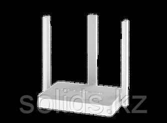 Keenetic City двухдиапазонный интернет-центр с Wi-Fi AC750 и управляемым коммутатором