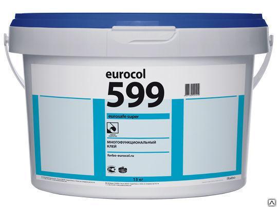 Клей многофункциональный Форбо (Forbo) Eurosafe Super 599, упаковка 10 кг