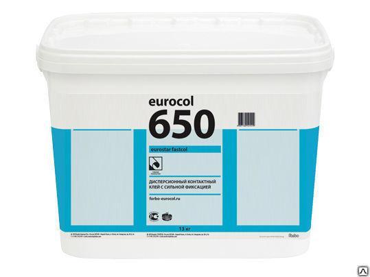 Клей Форбо (Forbo) Eurostar Fastcol 650, упаковка 7,5 кг