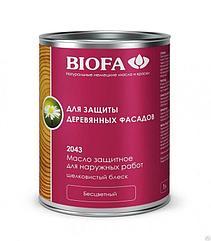 Масло защитное для наружных работ (Biofa)