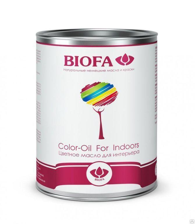 Color-Oil For Indoors (Цветное масло для интерьера) (Biofa)