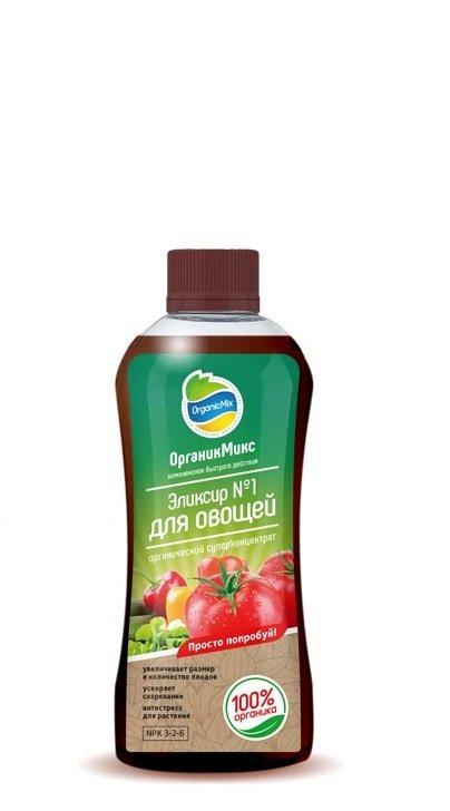 Органик микс эликсир №1 для овощей 0,25л