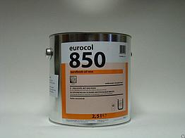 Масло для паркета Eurofinish Oil Wax полуматовое/матовое Форбо 850
