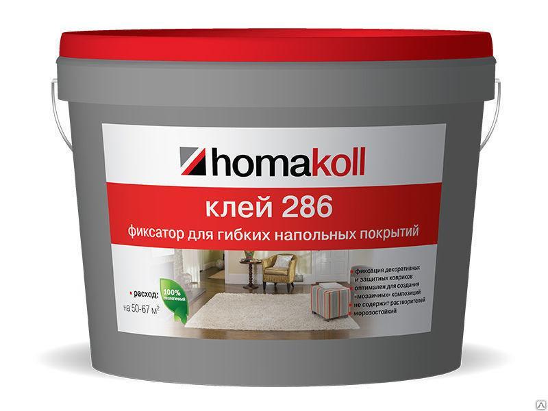 Клей-фиксатор Homakoll 286 уп. 5/10 кг