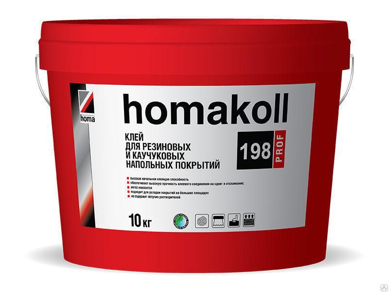 Клей Homakoll 198 Prof, упаковка 10 кг