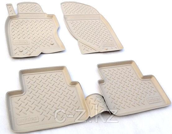 Резиновые коврики для Toyota Land Cruiser Prado 120 2002-2009, фото 2