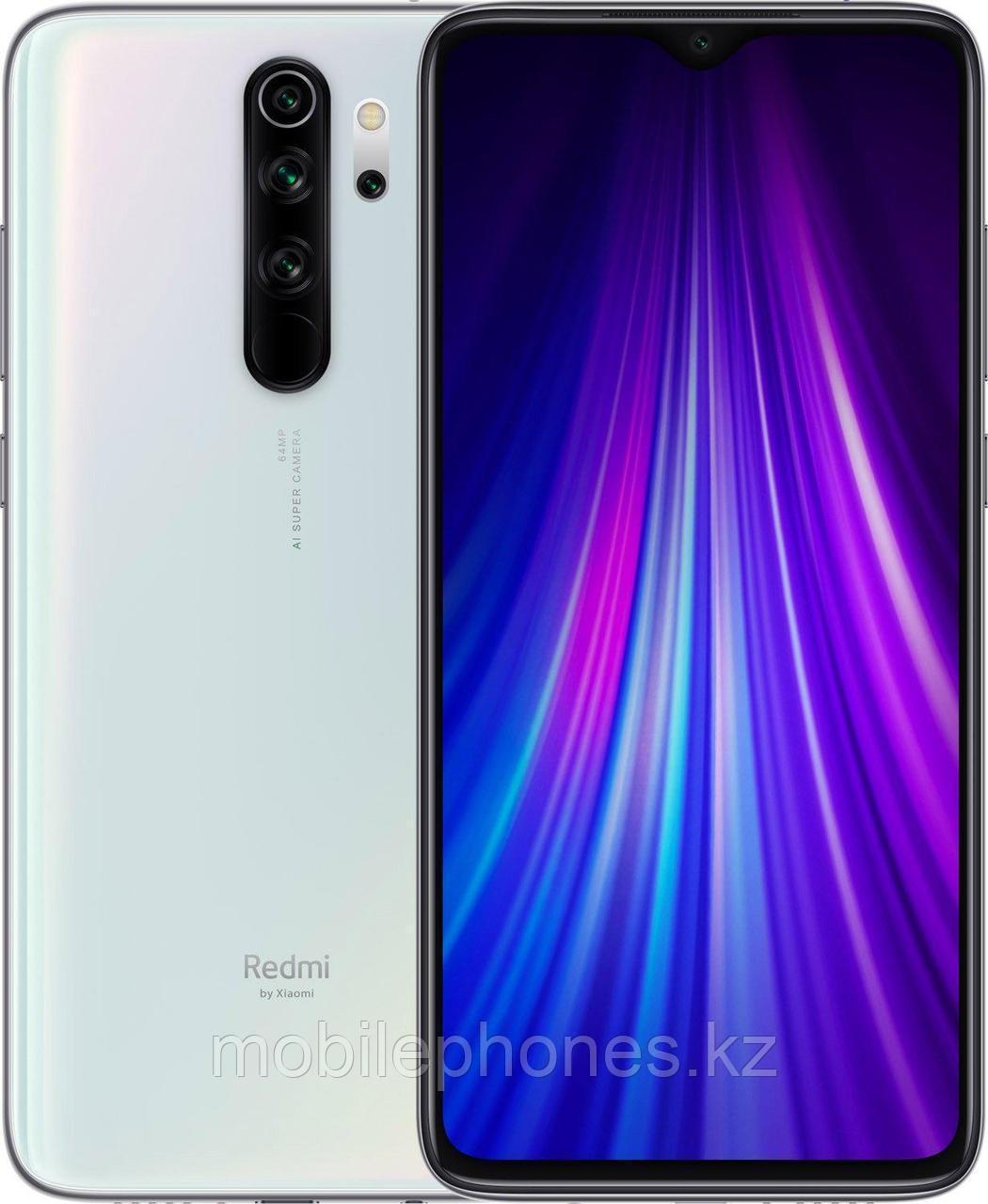 Смартфон Xiaomi Redmi Note 8 Pro 128Gb белый