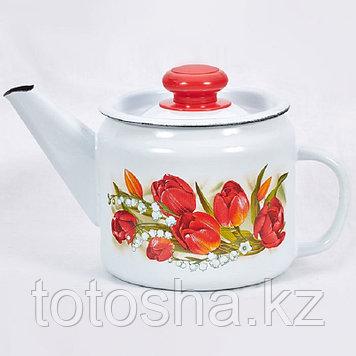 "Чайник 1,0 л ""Ласковый май"" С-2707П2/4Рч"