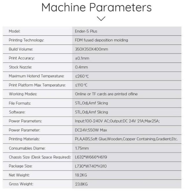 3D принтер Creality Ender-5 PLUS
