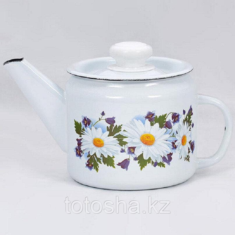 """Чайник 1,0 л """"Ромашковое поле"""" С-2707П2/4Рч"""