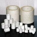 Насадки кислотоупорные керамические фарфоровые класса А-1-80 — А-1-150 /  Кольца Рашига