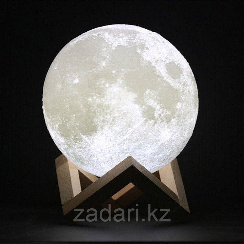 Ночник «Луна 3D» на подставке