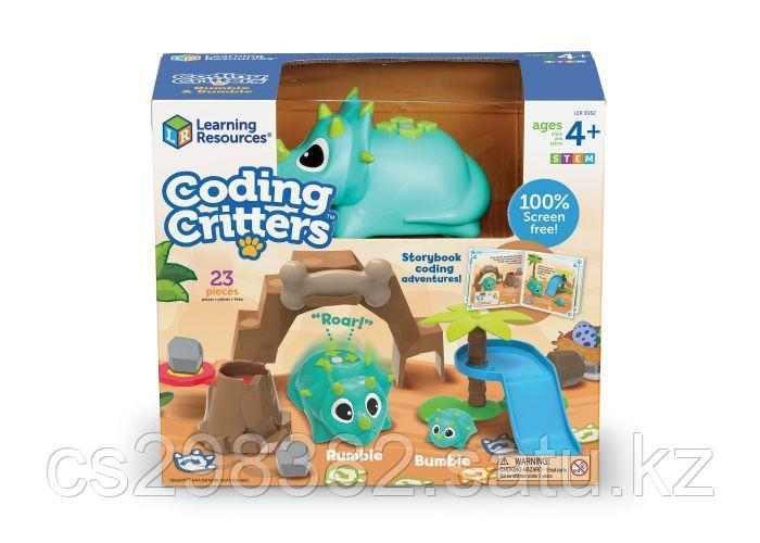 """Набор с программируемым роботом Coding Critters ™ LER 3082 (Серия """"Кодируемые питомцы.РАМБЛ и БАМБЛ)"""