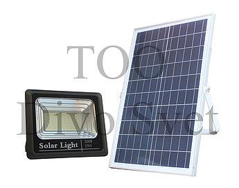 Прожектор на солнечных батареях 300W. Солнечный светодиодный светильник LED 300 Вт.