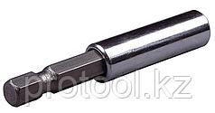 """Адаптер STAYER """"PROFI"""" для бит комбинированный магнитный, 60мм"""