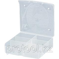 Блок для мелочей (14 x 13 см) прозрачный матовый // Сибртех