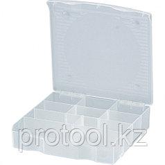 Блок для мелочей (17 x 16 см) прозрачный матовый// Сибртех