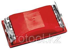 Брусок для шлифования 105 х 210мм с шарнирным переходником под телескопическую ручку//MTX