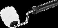 "Валик малярный ""РАДУГА"", 240 мм, d=40 мм, ворс 14 мм, ручка d=6 мм, ЗУБР Стандарт"