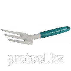 """Вилка посадочная RACO """"STANDARD"""", 3 зубца, с пластмассовой ручкой, 310мм"""