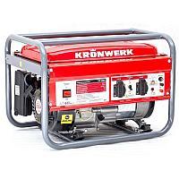 Генератор бензиновый LK 2500,2,2 кВт, 220В, бак 15 л, ручной старт// Kronwerk