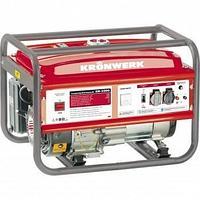 Генератор бензиновый LK 6500E,5,5 кВт, 220В, бак 25 л, электростартер// Kronwerk