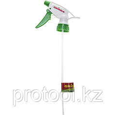 Головки-пульверизаторы GRINDA для пластиковых бутылок, цвет зеленый/белый