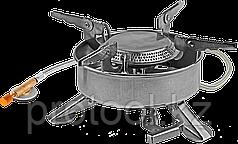 """Горелка ЗУБР """"ЭКСПЕРТ"""" туристическая газовая, диаметр 195мм, мощность 2,2кВт"""