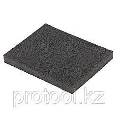 Губка для шлифования, 125 х 100 х 10 мм, мягкая, P60// Matrix