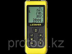 """Дальномер STAYER """"MASTER"""" MAX-Control лазерный, 2 точки отсчета, дальность 50м, точность 2мм"""