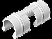 Зажим GRINDA для крепления пленки к каркасу парника, d=20мм, цвет белый, 10шт