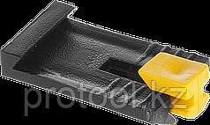 ЗАМШ-П Зажим пластиковый для маячкового профиля, ЗУБР 1000 шт.