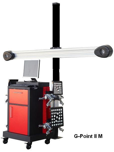 Стенд развал-схождения 3D G-Point II-M Балка с камерами перемещается по высоте вручную (противовес).