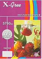 ТЕРМОТР-Р стр. для ТЁМНЫХ тканей (A4/ 5) X-GREE DTS235-A4-5 (для водораст. черн.)