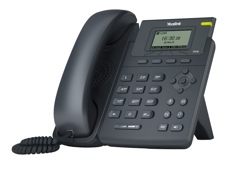 IP телефон Yealink SIP-T19P E2, без БП
