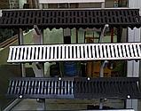 Канал водоотводный пластиковый длина-1000мм, ширин-146мм, высота-120мм STEELOT, фото 6
