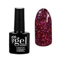 Гель-лак для ногтей 'Искрящийся бриллиант', трёхфазный LED/UV, 10мл, цвет 006 малиновый