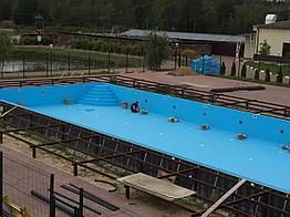 Скиммерный бассейн, 20*10*1.5м