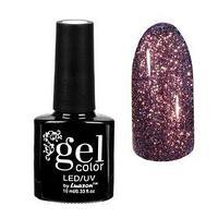 Гель-лак для ногтей 'Сверкающая платина', трёхфазный LED/UV, 10мл, цвет 012 фиолетовый