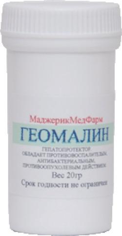 Каменное масло при онкологии Геомалин