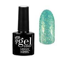 Гель-лак для ногтей 'Горный хрусталь', трёхфазный LED/UV, 10мл, цвет 005 светло-зелёный