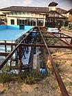 Переливной бассейн, 30*15*1,5м, фото 4