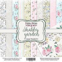 SHABBY GARDEN - набор двусторонней бумаги 30,5см х 30,5см