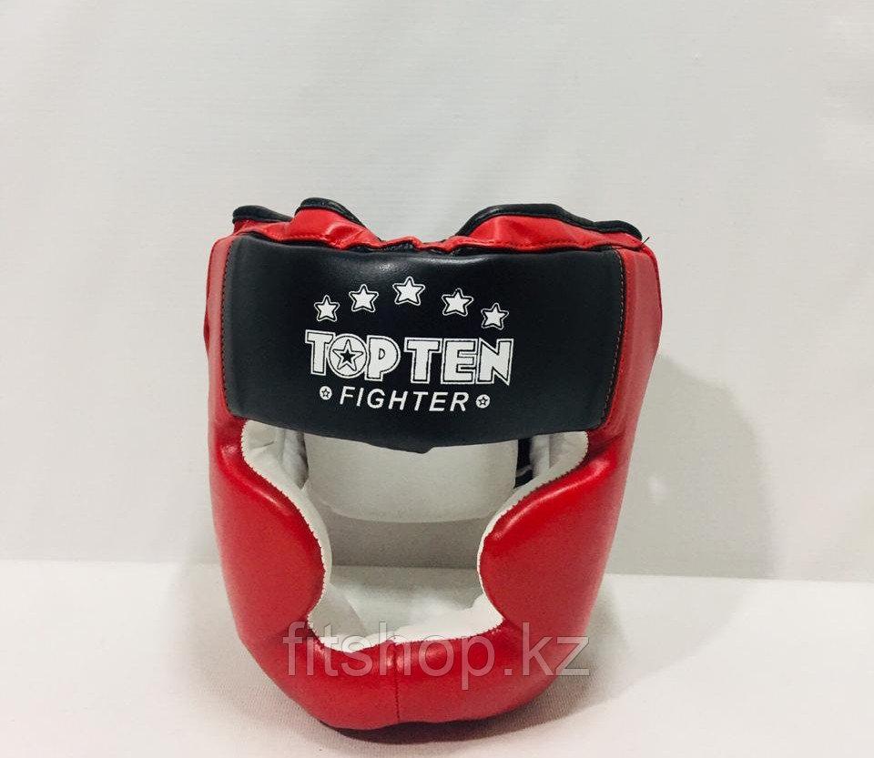 Шлем для бокса TopTen Кожзам