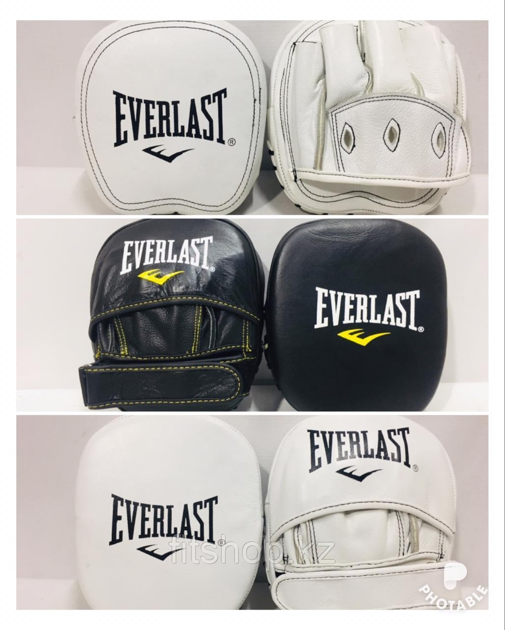 Лапы для бокса  Everlast (Натуральная кожа)