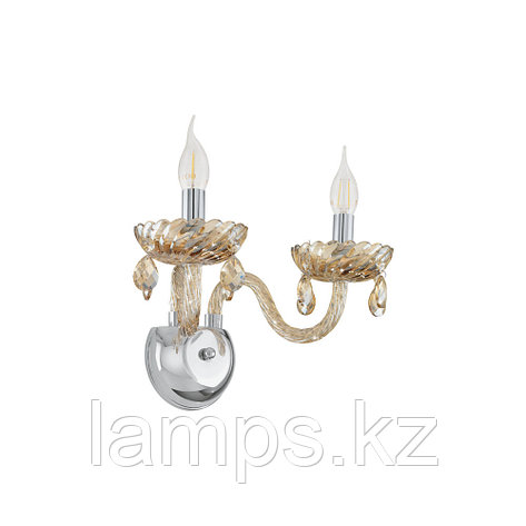 Настенный светильник BASILANO  Е14 2*40W , фото 2