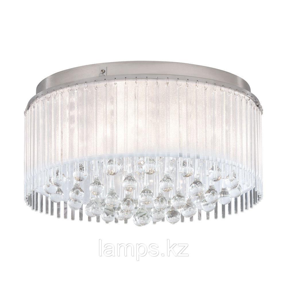 Светильник потолочный MONTESILVANO, сталь, стекло, DL  6, диаметр 465