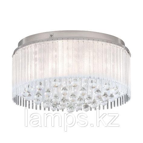 Светильник потолочный MONTESILVANO, сталь, стекло, DL  6, диаметр 465, фото 2